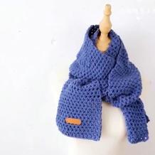 男女都适合的钩针围巾编织视频教程零基础教程