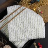 同心扣围巾 棒针围巾织法起针收针花样编织视频教程