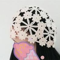 一线连梅花帽(4-2)经典女士钩针帽子编织视频教程