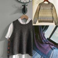 202138期周热门编织作品:9月下旬手工编织服饰8款