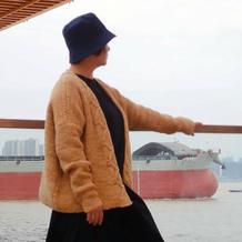 已知秋 喵夫人大雪女士棒针外套开衫毛衣