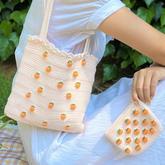 桔子斜挎包(5-2)清新橘子主题包包饰物188BET金宝搏视频教程