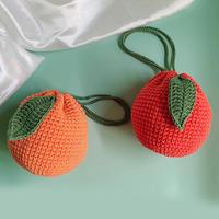 丑橘子编织手提包单肩包 新手详细钩针编织视频教程