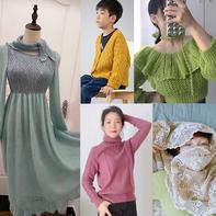 202139期周热门编织作品:15款手工编织服饰