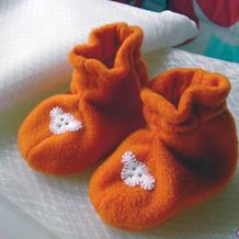 宝宝午休时就可以做好的简单漂亮宝宝鞋
