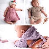太可了!30款手工编织婴幼儿棒针宝宝毛衣用品
