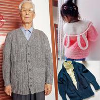 202141期周热门编织作品:秋冬手工编织服饰12款