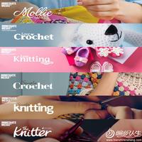 《simply knitting》《The Knitter》等英国知名针织杂志简介