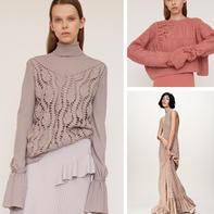 考究实用优雅钩织结合女装 大牌时装周走秀款针织服饰欣赏