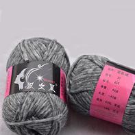 织女星·雪影绒 秋冬粗毛线保暖羊驼毛衣外套毛衣线