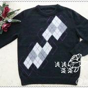 男式毛衣编织花样,男式毛衣编织花样图解,男式毛衣编织花样图案