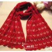 毛线围巾的织法,粗细毛线围巾的织法,男士毛线围巾的款式