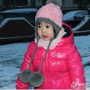 护耳帽的织法,儿童宝宝护耳帽编织方法,怎么织护耳帽