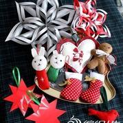 圣诞专辑 毛线编织圣诞帽子 手工制作圣诞礼物