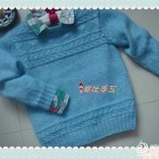 手工编织儿童毛衣,儿童毛衣编织款式,儿童毛衣图片大全