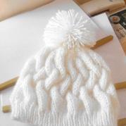毛线帽子的编织方法,怎样编织毛线帽子,毛线帽子编织花样图解