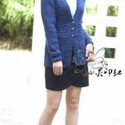 秋季长款毛衣外套开衫,韩版棒针毛衣外套款式