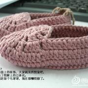 婴儿鞋的钩法做法,手工编织婴儿鞋,婴儿毛线鞋的织法