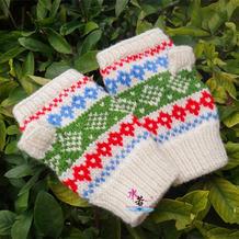 无指手套的编织方法 怎么织无指手套